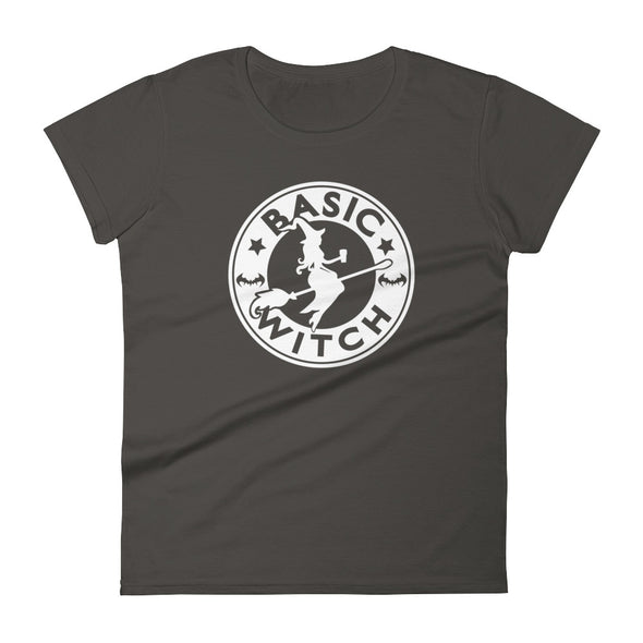 Basic Witch with Coffee Women's T-Shirt
