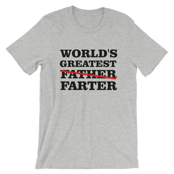 World's Greatest Farter Father's Day Funny T-Shirt