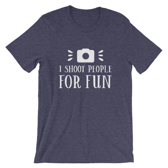 I Shoot People For Fun Men's T-Shirt