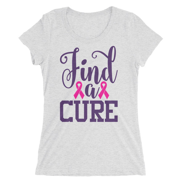 Find a Cure Breast Cancer Support Shirt for Women