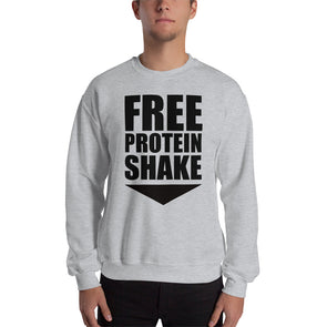 Free Protein Shake Sweatshirt for Men