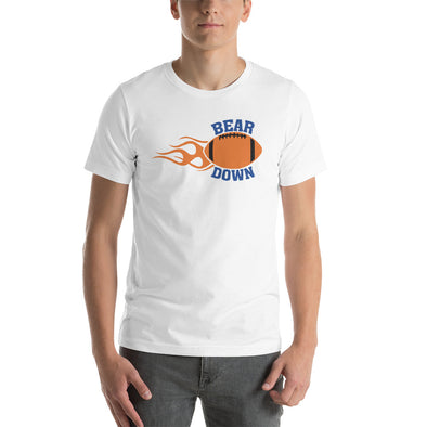 Bear Down Football T-Shirt for Men