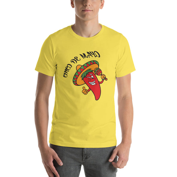 Fiesta Cinco de Mayo Short-Sleeve T-Shirts for Men