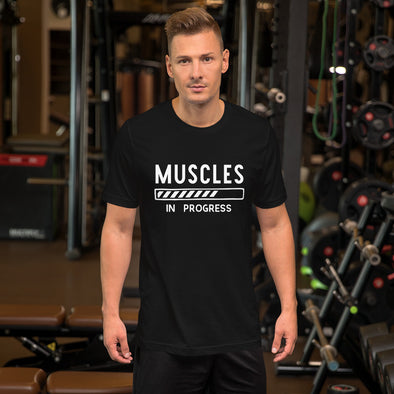 Muscles in Progress T-Shirt For Men