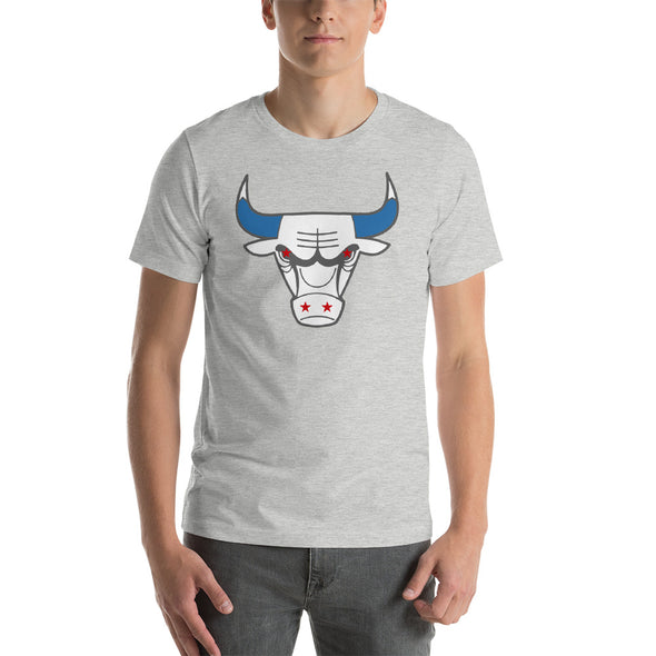 Chicago Flag T-Shirt - Da Bull - Short-Sleeve Shirt for Men