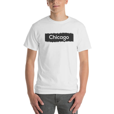 Chicago Graphic Printed Short-Sleeve T-Shirt for Men