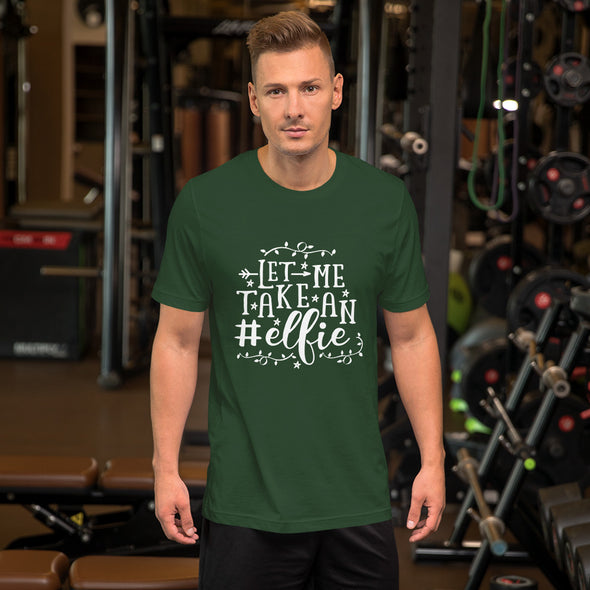 Let Me Take An Elfie Men's T-Shirt