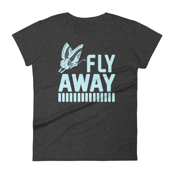 Fly Away Butterfly T-Shirt for Women
