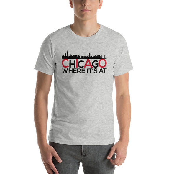 Chicago Skyline T Shirt - Short-Sleeve T-Shirt for Men