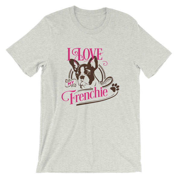 I Love My Frenchie T-Shirt for Men