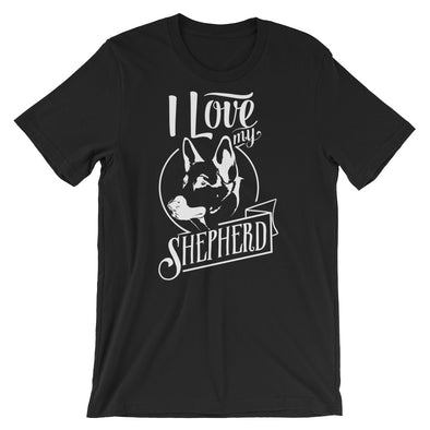 I Love My German Shepherd T-Shirt for Men