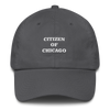 Citizen of Chicago Printed Cotton Cap