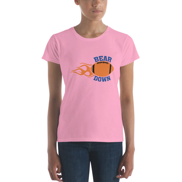 Bear Down Chicago T-Shirts for Women