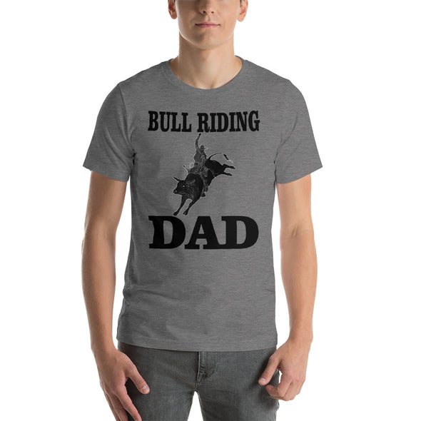 Bull Riding Dad Short-Sleeve T-Shirt