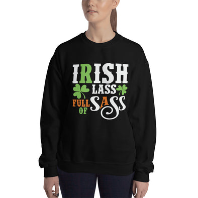 Irish Lass Full of Sass Sweatshirt for Women