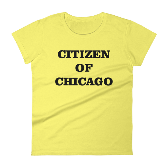 Citizen of Chicago - Women's short sleeve t-shirt