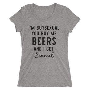 I'M Buysexual Funny Bisexual T-Shirt for Women