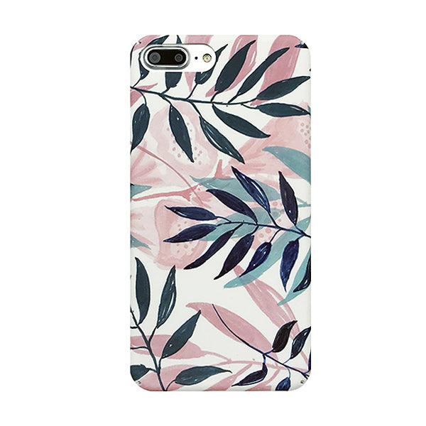 Artistic Leaf Phone Case For iPhone 7 6 6S Plus