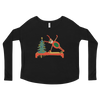 Reindeer Pilates Ladies' Long Sleeve Tee