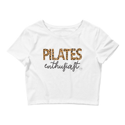 Pilates Enthusiast Women's Crop Tee