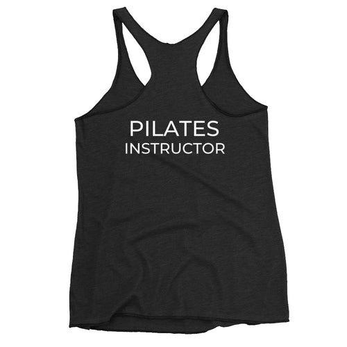 Just Two More! Pilates Instructor Women's Racerback Tank