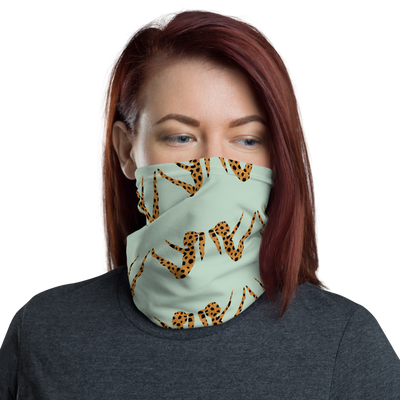 Animal Print Teaser Face Mask/Headband