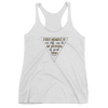 Every Moment of our Life Women's Racerback Tank