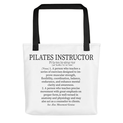 Pilates Instructor Definition Tote bag