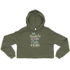 How Wonderful Life is with Pilates in the World Crop Hoodie