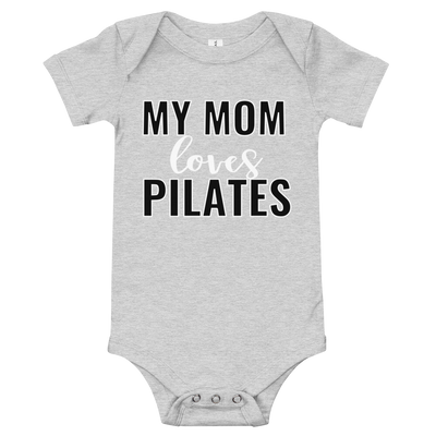 My Mom Loves Pilates Bodysuit