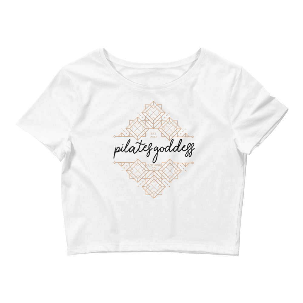 Pilates Goddess Clothing Co Women's Crop Tee
