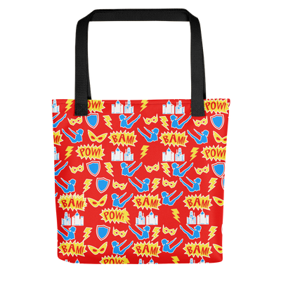 Pilates Super Hero Tote bag
