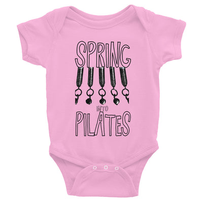 Spring Into Pilates Infant Bodysuit