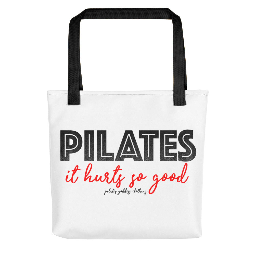 Our Very Own Signature Feel It Love It Pilates Bag-tote Bag-Cool Pilates Bag-Pilates Lover-Passion for Pilates-Pilates-gym-bag-day bag