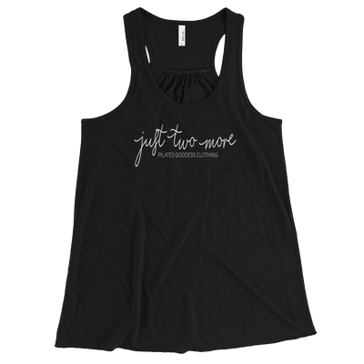 Just Two More Women's Flowy Racerback Tank