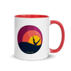 Sunset Teaser Mug with Color Inside