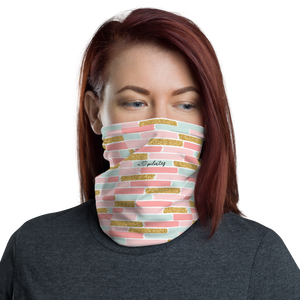 I Love Pilates Brick Print Face Mask/Headband