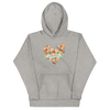 Pilates Floral Heart Hoodie