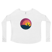 Sunset Teaser Ladies' Long Sleeve Tee