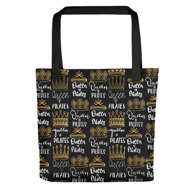 Queen of Pilates Tote bag