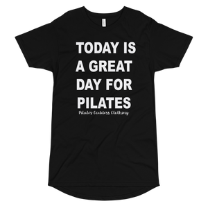 Today is A Great Day For Pilates Long Body Urban Tee