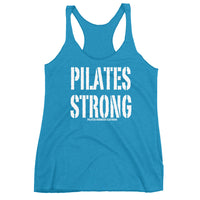 Pilates Strong Women's Racerback Tank