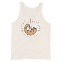 Retro Power Pilates! Unisex Tank Top