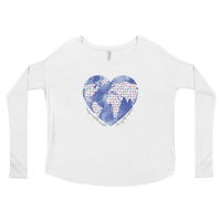 Pilates World Love Ladies' Long Sleeve Tee