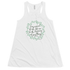 Every Moment of Our Life Can Be The Beginning Of Great Things- Joseph Pilates Women's Flowy Racerback Tank