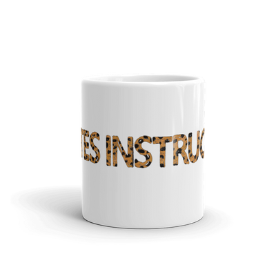 Animal Print Pilates Instructor Mug
