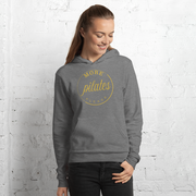 More Pilates, Please! Gold Ink. Hoodie