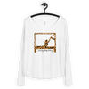 Swan On Cadillac Animal Print Ladies' Long Sleeve Tee