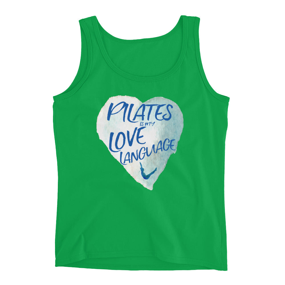 Pilates Is My Love Language Ladies' Tank