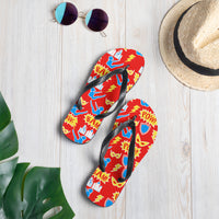 Super Hero Pilates Flip-Flops